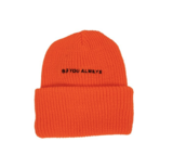 Avatar BYA classic beanie - ORANGE