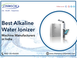 Avatar Best Alkaline Water Ionizer Machine Manufacturers in India