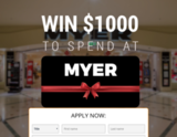 Avatar Win $1000 to Spend at Myer
