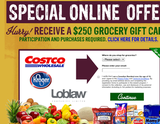 Avatar Receive a $250 Grocery Gift Card!
