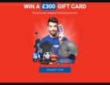 Avatar Win a 300 GBP Giftcard!