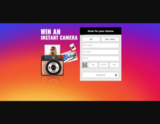 Avatar Win an Instant Camera now!