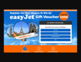Avatar Win a Easy Jet Voucher now!