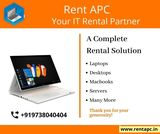 Avatar Rent a PC provides Desktops & Laptops for a rental basis from a few days, months or even years. Flexible Contracts with Quick Support Laptop Rental.